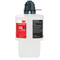 3M™ Twist 'n Fill™ 34L Peroxide Cleaner -2 L, Gray Cap