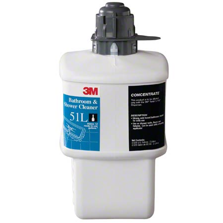 3M™ Twist 'n Fill™ 51L Bathroom & Shower Cleaner - 2 L