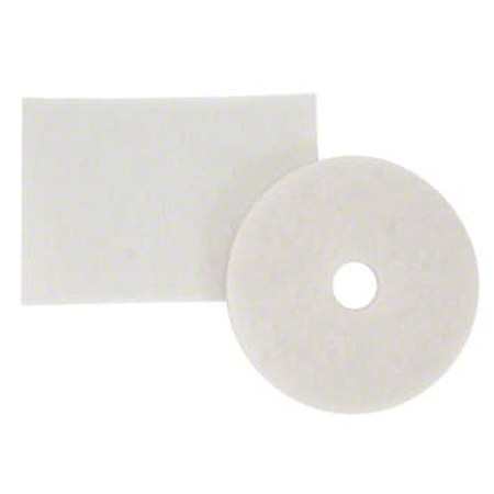 3M™ 4100 White Super Polish Pad - 12""