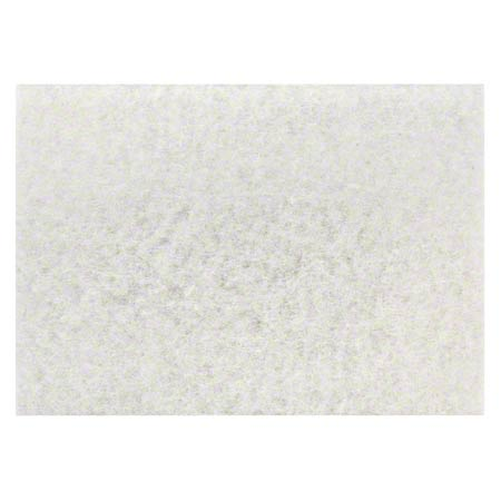 "3M™ 4100 White Super Polish Pad - 32"" x 14"""