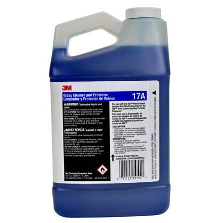 3M™ FCS 17A Glass Cleaner & Protector Concentrate-0.5 Gal