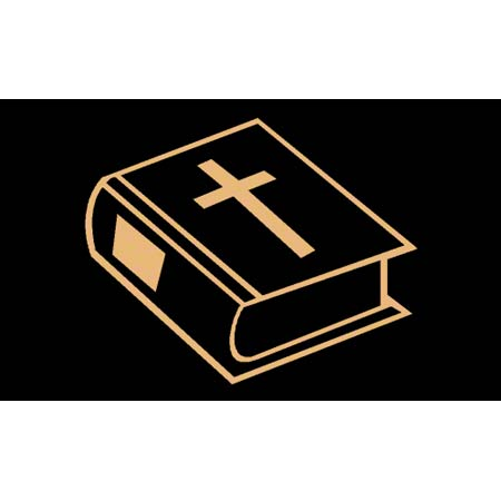 M + A Matting Classic Creation Religious Bible - 3' x 5', St