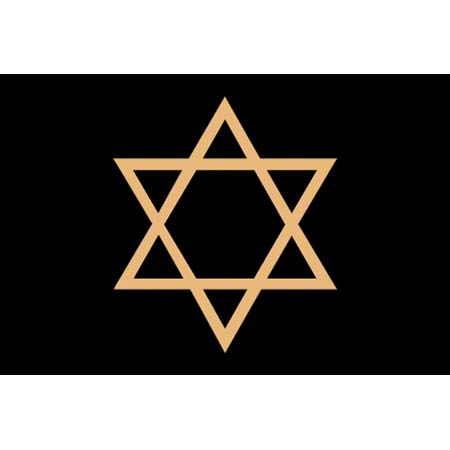 M + A Matting Classic Creation Religious Star - 4' x 6', Sty