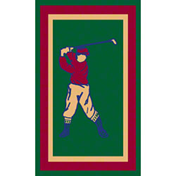 M + A Matting Classic Creation Golf Mat - 3' x 5'