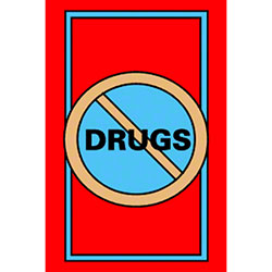 M + A Matting Classic Creation No Drugs Mat - 4' x 6'