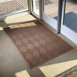 M + A Matting Waterhog® Fashion Border Diamond Mats