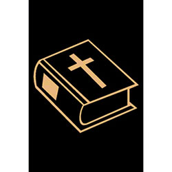 M + A Matting Classic Creation Religious Bible - 4' x 6', St