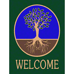 M + A Matting Classic Impressions Tree Welcome Mat - 3' x 4'