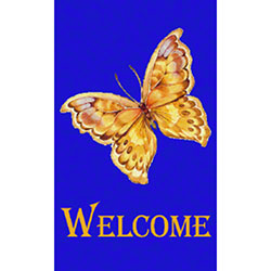 M + A Matting Classic Impressions Butterfly Welcome Mat - 3'