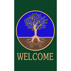 M + A Matting Classic Impressions Tree Welcome Mat - 3' x 5'