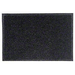 M + A Matting Waterhog® Fashion Border Mat -Charcoal, 4x10