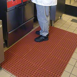 M + A Matting Comfort Mate Mat - 3 x 5, Red