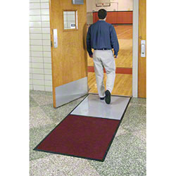 M + A Matting Clean Stride® Indoor Mat Scraper Wipers w/Fr