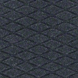 M + A Matting Hog Heaven® Fashion Mat - Coal Black, 3'x5'