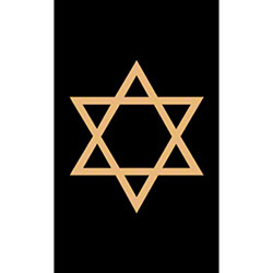 M + A Matting Classic Creation Religious Star - 3' x 5', Sty