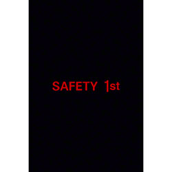 M + A Matting SuperScrape Safety 1st Message - 4' x 6', Styl