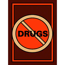 M + A Matting Classic Creation No Drugs Mat - 3' x 4'