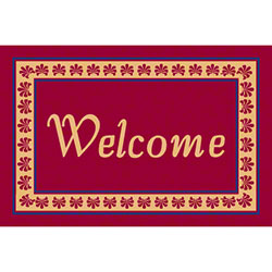 M + A Matting Classic Creation Persian Welcome Mat - 4' x 6'