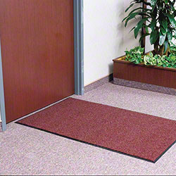 M + A Matting Victory™ Indoor Mat - 4' x 25', Brown