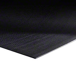 M + A Matting Sure Tread™ V-Groove - Black, 4'x105'