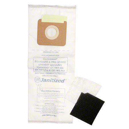 Janitized® 3-Ply High Efficiency Micro Filter