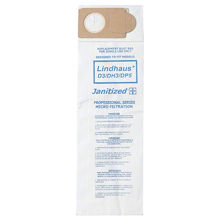 Janitized® 2-Ply Paper/Meltblown Micro Filter For Lindhaus