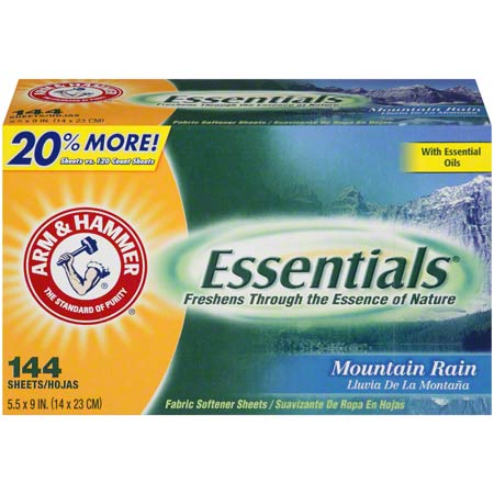 Arm & Hammer™ Essentials® Dry Sheets - 144 ct.