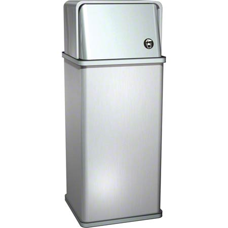 ASI Traditional 13 Gal. Free Standing Waste Receptacle