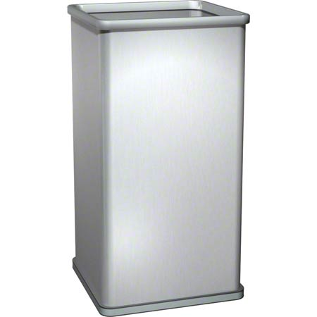 ASI Traditional 13 Gal. Free Standing Open Waste Receptacle