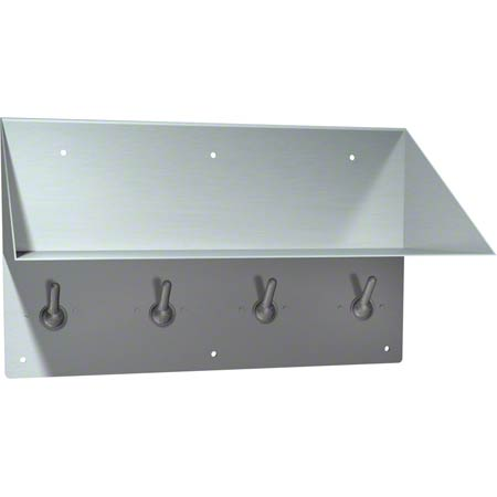 ASI Front Mounting Book Shelf/Clothes Hook
