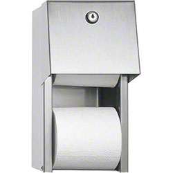 ASI Dual Roll Toilet Paper Dispenser