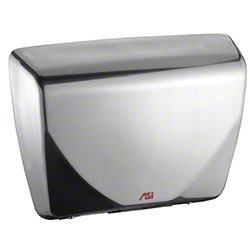 ASI Surface Mounted Sensor Hand Dryer -Stainless Steel Satin