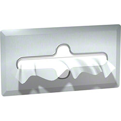 ASI Recessed Facial Tissue Dispenser - Satin Stainless Steel
