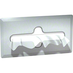 ASI Recessed Facial Tissue Dispenser - Satin Finish