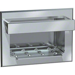 ASI Recessed Heavy Duty Stainless Steel Soap Dish w/Bar
