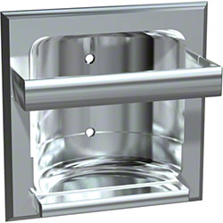 ASI Zamac Recessed Soap Dish w/Bar