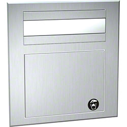 ASI Counter Top Mounted Paper Towel Dispenser/Receptacle