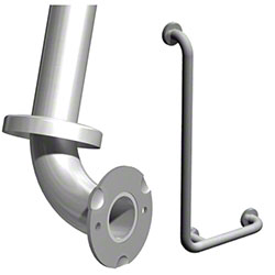 ASI 3700 Type 04 Snap Flange L- Shape Grab Bar