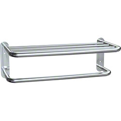 ASI Bright Polished Towel Shelf w/Towel Bar - 20""