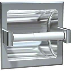 ASI Satin Stainless Steel Recessed Toilet Tissue Holder