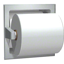 ASI Satin Stainless Steel Spare Roll Toilet Tissue Holder