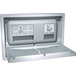 ASI Recessed Stainless Steel Baby Changing Station