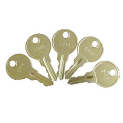 ASI Standard Replacement Key For Tumbler Lock