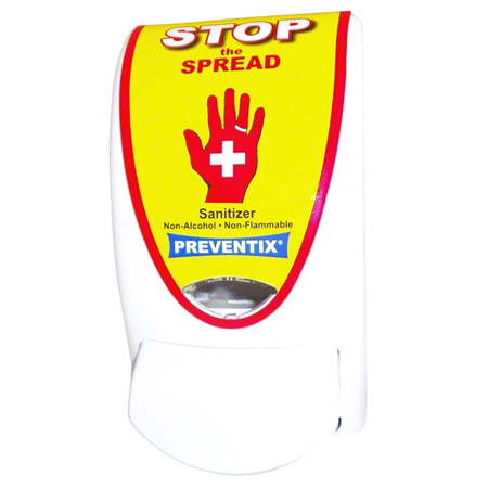 "Azul® Preventix Red ""Stop"" Foam Hand Sanitizer Dispenser"