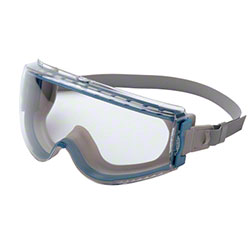 Uvex® Stealth Clear Lens, Teal/Gray Frame Goggles