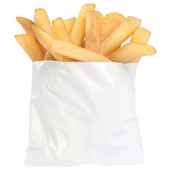 "Bagcraft™ French Fry/Side Order Bag - 5"" x 4 1/2"""