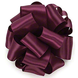 "Berwick® Double-Face Satin Ribbon - 1/4"" x 100 yds, Berry"