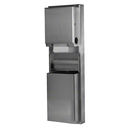 Bobrick ClassicSeries® Towel Dispenser/Waste Receptacle