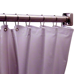 "Bobrick Vinyl Shower Curtain - 70"" W x 72"" H"