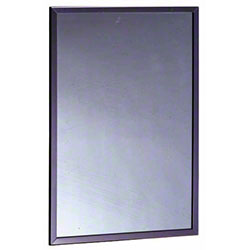 "Bobrick B-165 Series Framed Mirror - 18"" x 24"""